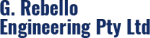 The G Rebello Engineering logo.